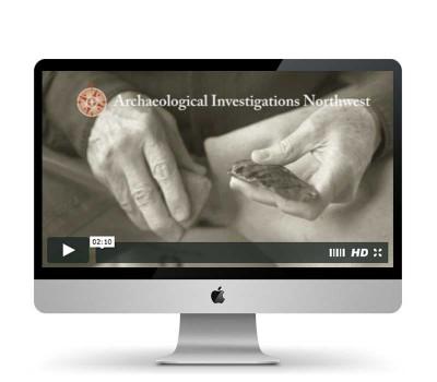 Archaeological Investigations Northwest website video image